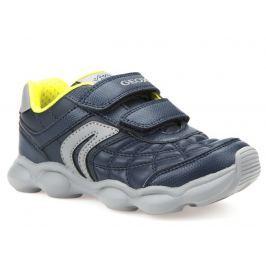 Geox Chlapecké tenisky Munfrey  - modro-šedé