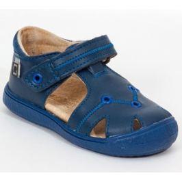 RAK Chlapecké kožené sandály Oceania - modré