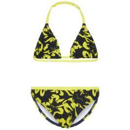 Name it Dívčí dvoudílné plavky - žluté