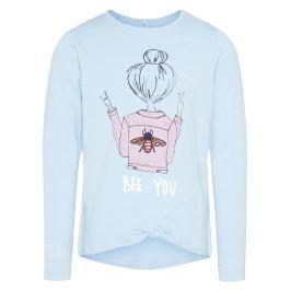 Name it Dívčí tričko Bee you - světle modré