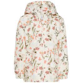 Name it Dívčí bunda s květinami - barevná