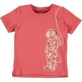 Name it Chlapecké tričko s kosmonautem - červené
