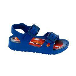 Disney by Arnetta Chlapecké gumové sandály Cars - modré