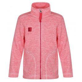 LOAP Dívčí svetr Krispin - růžový