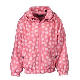 Blue Seven Dívčí puntíkovaná bunda - růžová