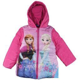 E plus M Dívčí bunda Frozen - růžová