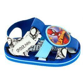 Disney by Arnetta Chlapecké sandály Spiderman - modro-bílé