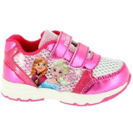 Disney by Arnetta Dívčí tenisky Frozen - růžové
