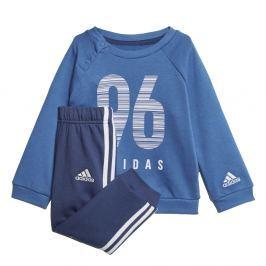 adidas Chlapecká tepláková souprava I E CREW JOG - modrá