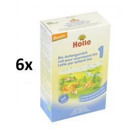 Holle BIO počáteční kojenecká výživa 6x400g