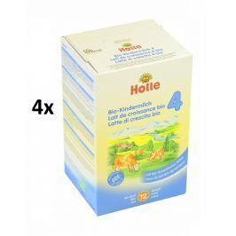 Holle BIO dětská mléčná výživa 4 - 4x600g