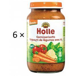 Holle BIO příkrm zeleninové rizoto 6x220g