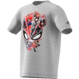 adidas Chlapecké tričko Spiderman - šedé