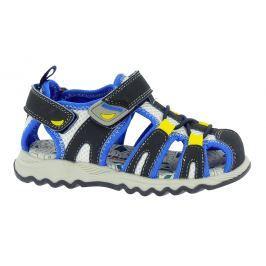 Canguro Chlapecké sandály - modro-černé