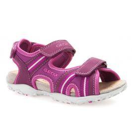 Geox Dívčí sandály Roxanne - růžové