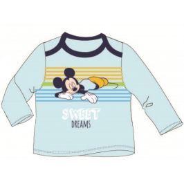 E plus M Chlapecké tričko Mickey Mouse - modré