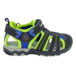 Canguro Chlapecké sandály - modro-zelené