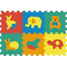 858ef5c0c Test Lamps Pěnový koberec puzzle zvířata
