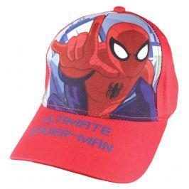 E plus M Chlapecká kšiltovka Spiderman - červená