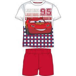 E plus M Chlapecké letní pyžamo Cars - barevné
