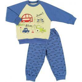 Ewa Klucze Chlapecké pyžamo Little Moon - tmavě modrá