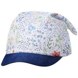 Broel Dívčí kšiltovka/šátek Florena - modrý