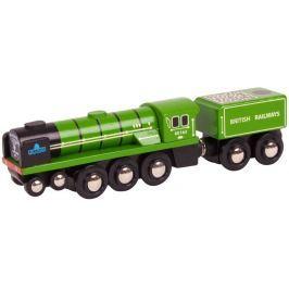 Bigjigs Replika lokomotivy - Tornado