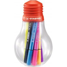 Stabilo Pen 68 Mini Colorful Ideas, 12 barev, 1 mm