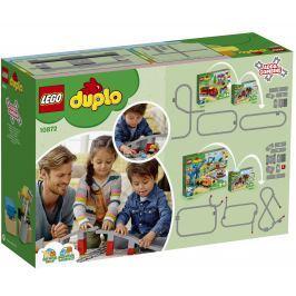 LEGO® DUPLO® Town 10872 Doplňky k vláčku – most a koleje