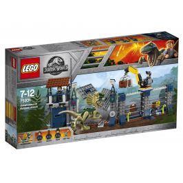 LEGO® JurassicWorld 75931 Útok Dilophosaura na hlídku