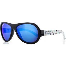 Shadez Chlapecké sluneční brýle Designers s autíčky - černo-bílé