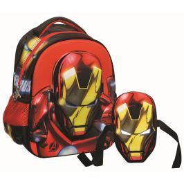 GIM Baťůžek Junior oválný Iron Man s maskou