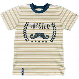MMDadak Chlapecké tričko Young Hippster - béžové