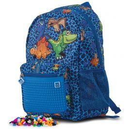 PIXIE CREW Dino dětský pixelový batoh