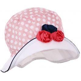 Pupill Dívčí klobouček Rivage - červený