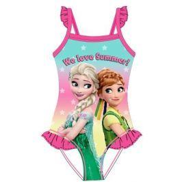 E plus M Dívčí plavky Frozen - růžové