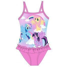 E plus M Dívčí plavky My Little Pony - růžové