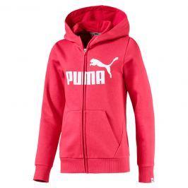 Puma Dívčí mikina Energize FZ - růžová