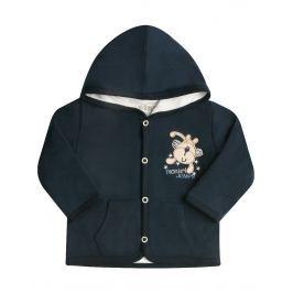 Nini Chlapecký kabátek s opičkou - modré