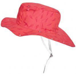 Ki ET LA Dívčí oboustranný klobouček Ice Cream - růžový