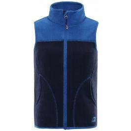 ALPINE PRO Chlapecká vesta Awoto - modrá