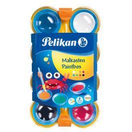 PELIKAN Vodové barvy Pelikan 8 barev, dětské
