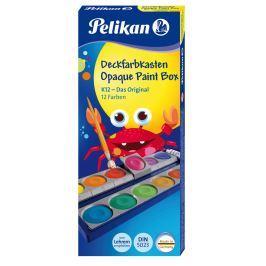 PELIKAN Vodové barvy Pelikan 12 barev + běloba