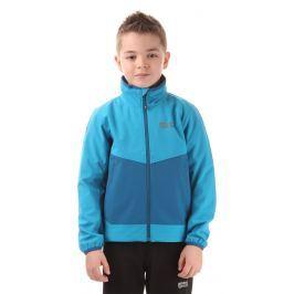 Nordblanc Dětská softshellová bunda - modrá