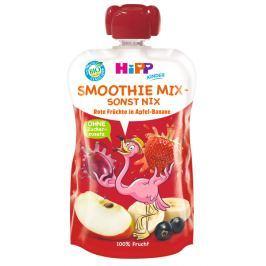 HiPP BIO Smoothie Jablko-Banán-Červené ovoce 120 ml