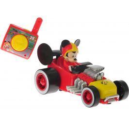 Mikro hračky Mickey Mouse R/C závodní formule, 13 cm