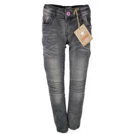 Dirkje Dívčí riflové kalhoty - šedé