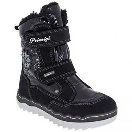 Primigi Dívčí zimní boty - černé
