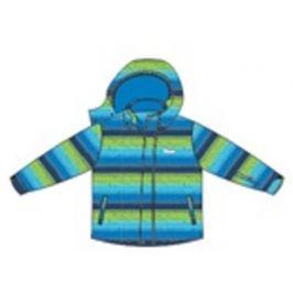 Venere Chlapecká proužkovaná bunda - modro-zelená