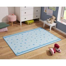 Hanse Home Dětský koberec Srdíčka a kytičky, 100x140 cm - modrý